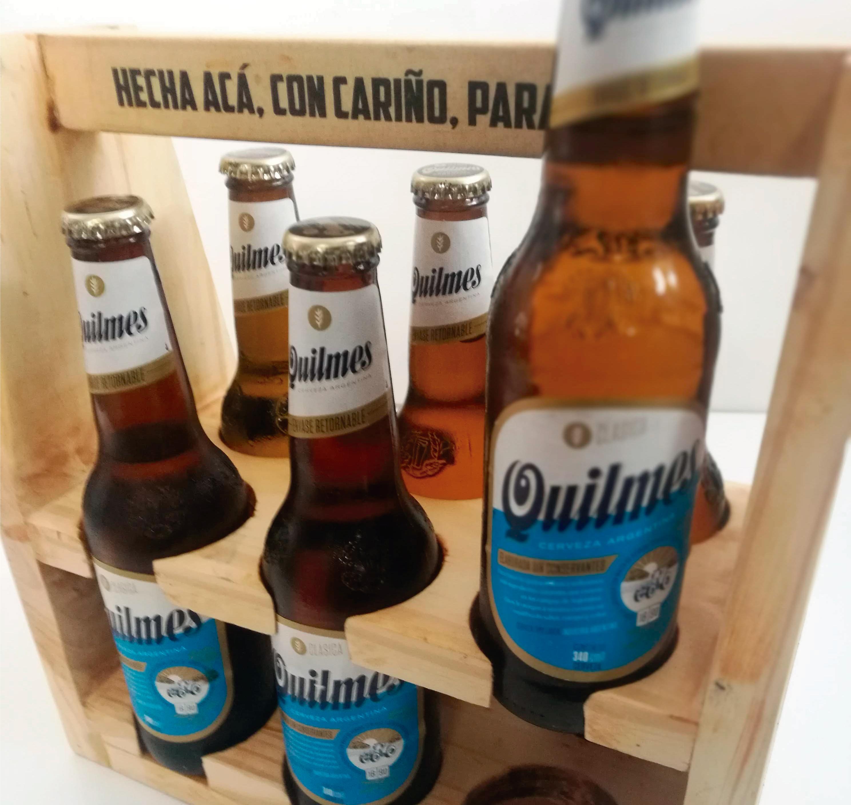 Exhibidor Quilmes