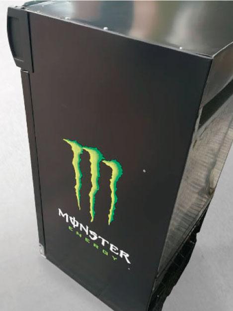 Heladera Monster