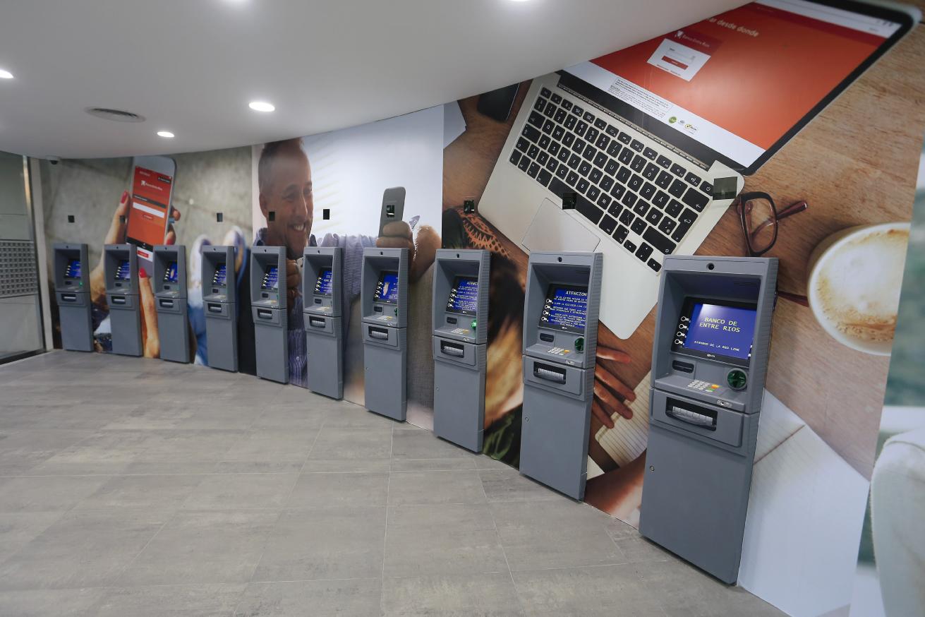 Fondo de ATM Banco Entre Ríos