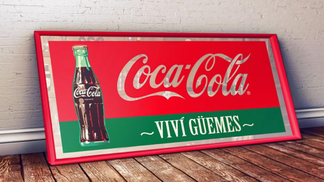 Coca Cola Viví Güemes