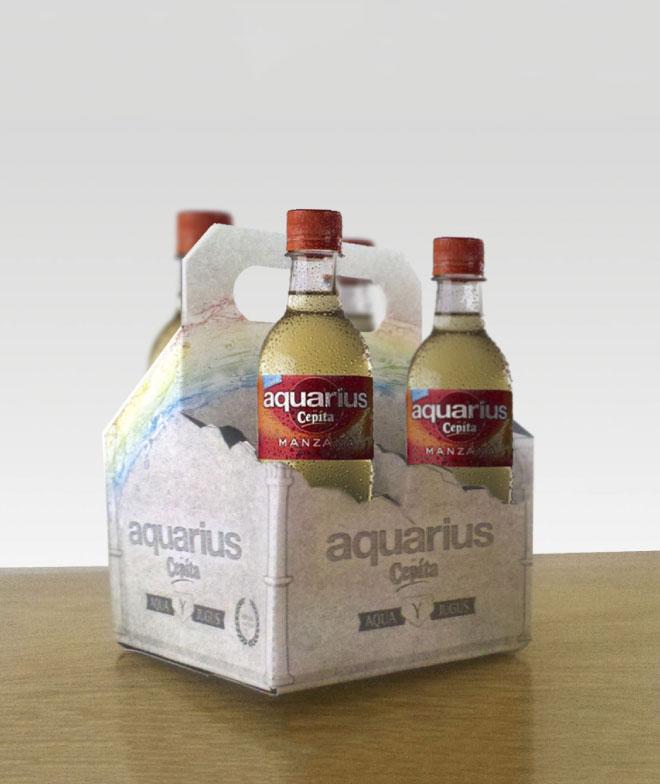 Aquarius Botellas